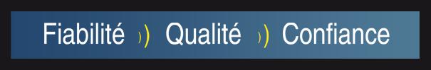 Fiabilité, qualité et confiance