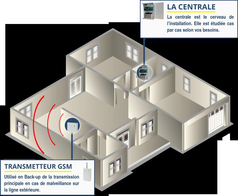 Detection intrusion transmission
