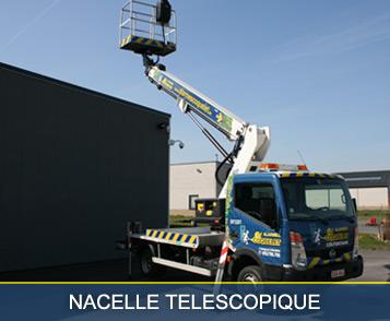 Nacelle Téléscopique