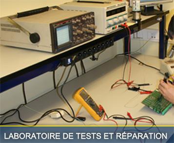 Laboratoire et réparation